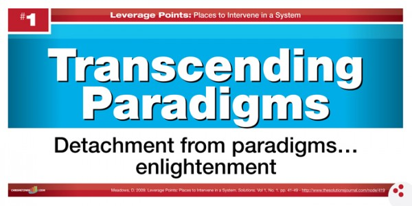 Leverage Points - Transcending Paradigms