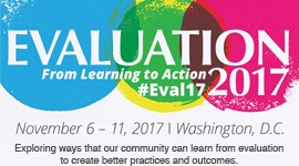 AEA Eval17 Conference