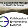 Collaboration for Environmental Evidence