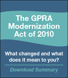 GPRA Modernization Act of 2010