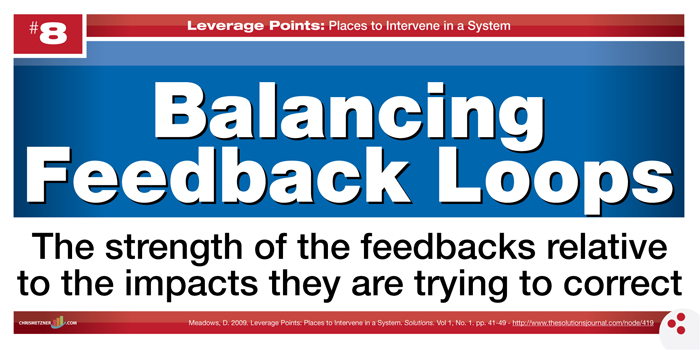 Leverage Points - Balancing Feedback Loops