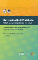 Developing the EEN Website by Chris Metzner
