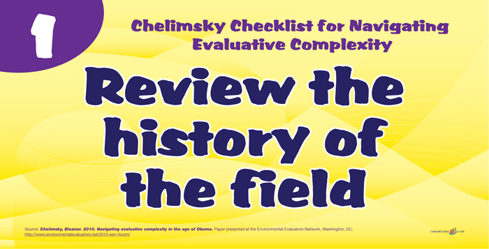 Chelminsky Checklist - Review the History