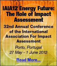 IAIA12 Energy Future 2012 Portugal