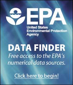 EPA Data Finder