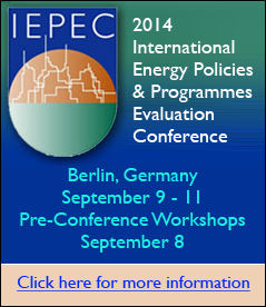 The International Energy Policies and Programmes Evaluation Conference (IEPPEC) 2014 Conference