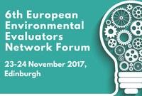 6th European Environmental Evaluators Network Forum